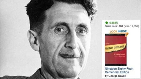 El escándalo PRISM hace crecer un 9.500% las ventas de 1984, la novela de Orwell: imagen de la semana