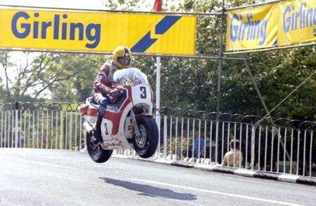 Joey Dunlop Salto Ballaugh 1982