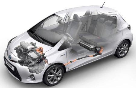 Toyota Yaris HSD imagen técnica