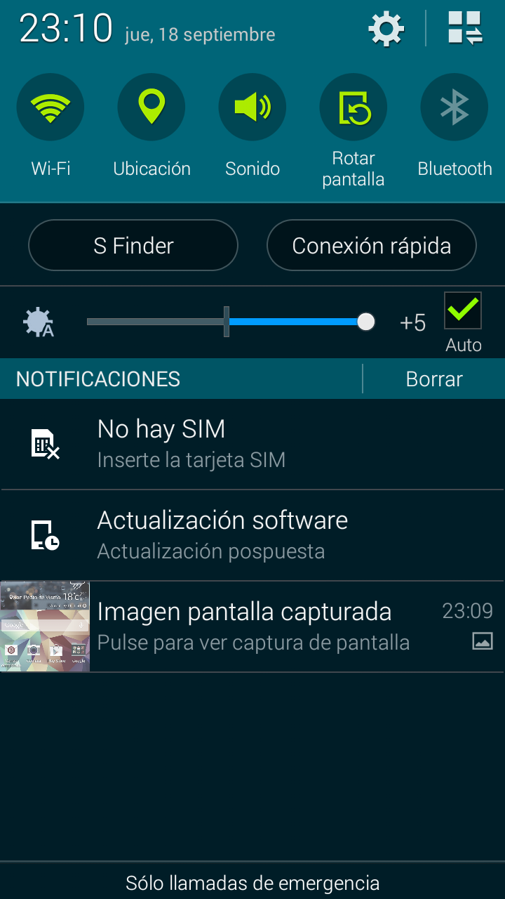 Foto de Samsung Galaxy S5 mini, software (3/5)