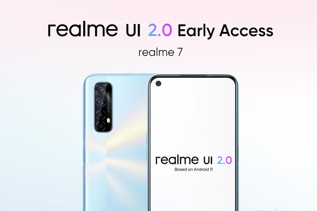 Android once llega a los Realme siete y Realme X2 Pro como beta abierta, primero en India