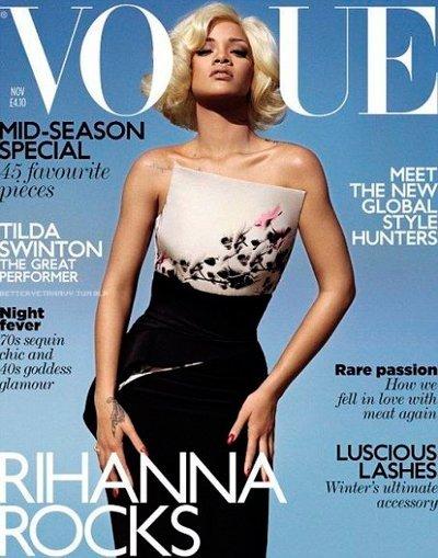 Lo que faltaba, Rihanna también a lo Marilyn