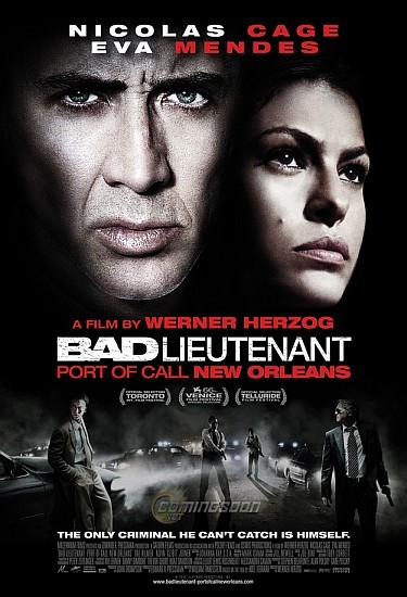 'Teniente corrupto' ('Bad Lieutenant: Port of Call New Orleans'), cartel del remake con Nicolas Cage