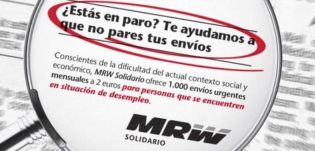 Envía paquetes a bajo coste  con MRW si eres desempleado