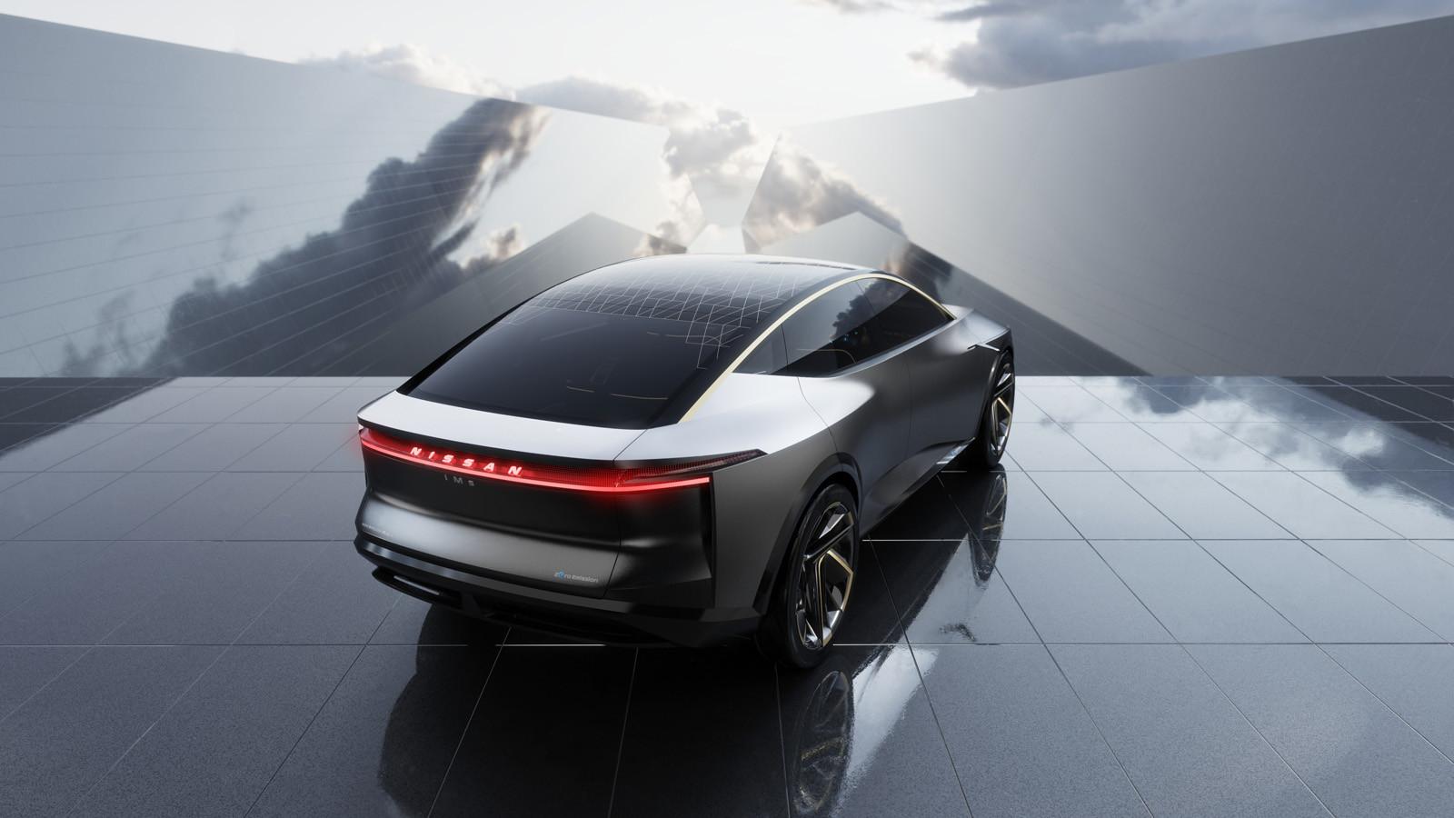 Foto de Nissan IMs EV Sports Sedan concept (16/31)