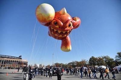 El Skylander Eruptor se unirá al espectáculo de globos de Nueva York del 27 de noviembre