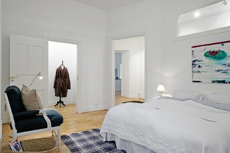 Una buena idea: crea un rincón de lectura en tu dormitorio