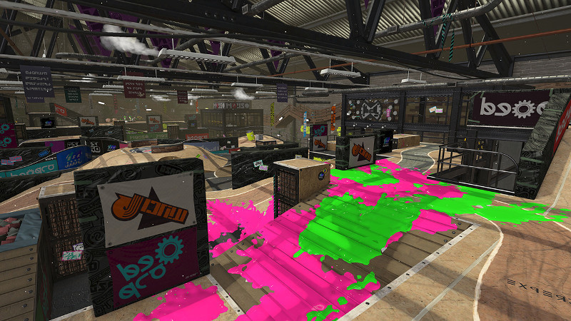 Splatoon 2 Humpback Pump Track 02