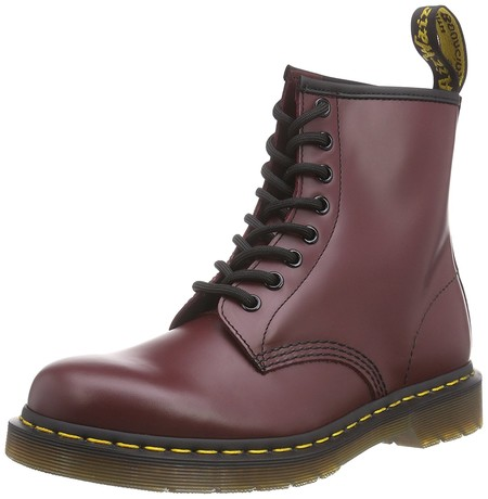 Dr Martens En Color Burdeos