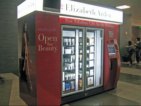 La máquina callejera de cosméticos