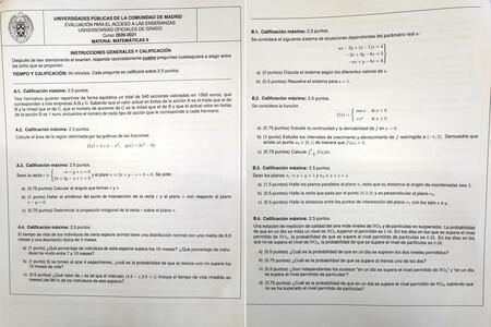 """El examen de Matemáticas de la EvAU de Madrid ha sido una """"masacre"""". Y también lo piensan los profesores"""