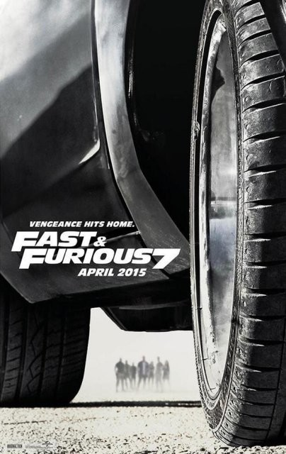 Segundo cartel de Fast and Furious 7