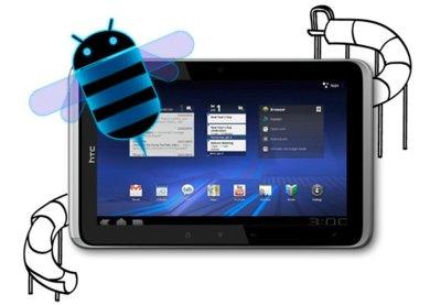 HTC Flyer recibe una actualización a Honeycomb vía OTA