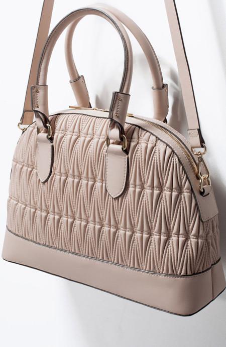 Bolso acolchado de Zara
