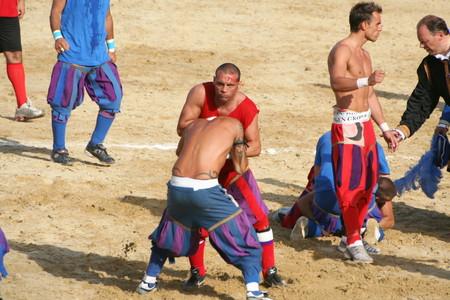 Calcio Storico Partita