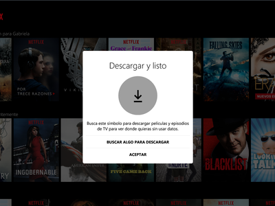 Netflix ya te deja bajar vídeos para ver offline desde Windows 10