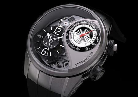 Reloj Breva Genie 03 con velocímetro en tiempo real