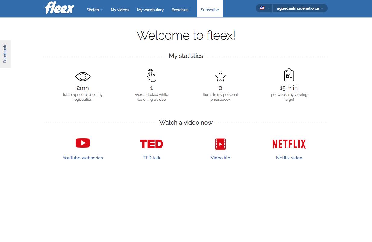 Fleex o cómo aprender inglés viendo Netflix
