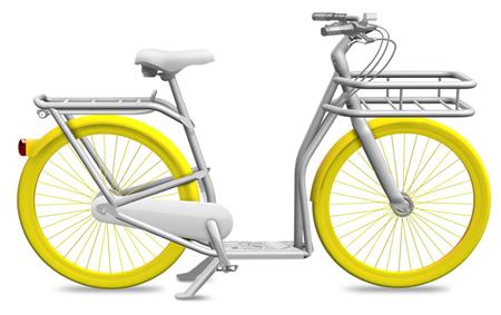 City PIBAL: el scooter bicicleta de Philippe Starck y Peugeot