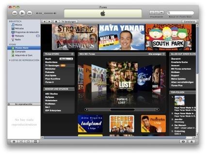 "Alemania ya goza de ""TV Sendungen"" en la iTunes Store Deutschland"