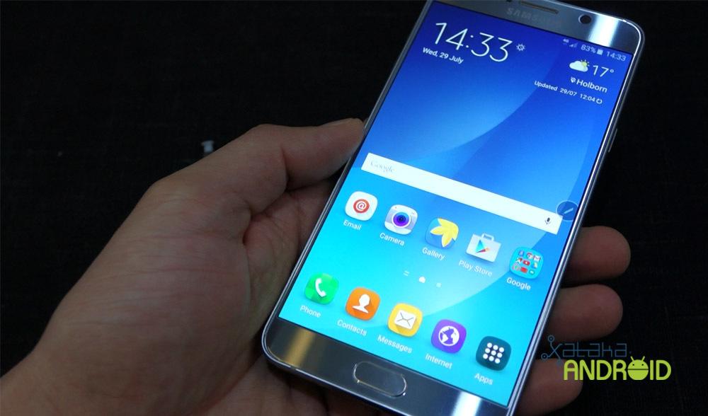 Foto de Samsung Galaxy Note 5 y Galaxy S6 edge+ (5/18)