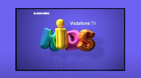 Vodafone TV estrena el nuevo Modo Niños, un nuevo entorno seguro y personalizable para los más pequeños