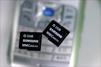 Tarjeta Micro MMC ahora con 2 gigas de capacidad