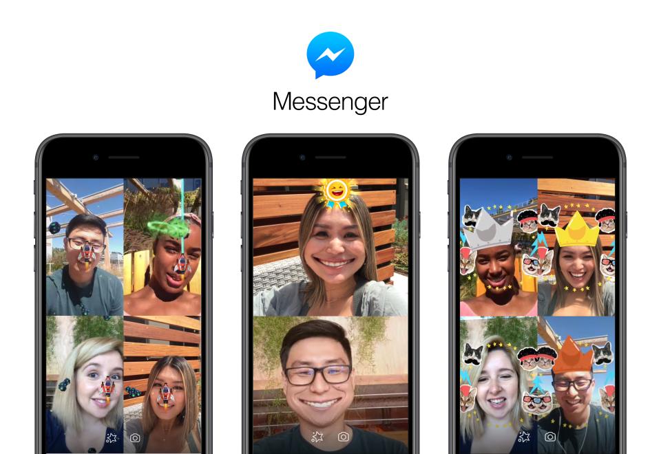 Facebook Messenger Juegos Realidad Aumentada