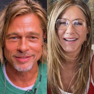 Jennifer Anniston y Brad Pitt juntos de nuevo para recaudar fondos contra el coronavirus en la lectura de 'Fast Times At Ridgemont High'