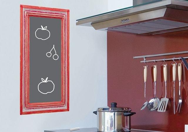 Qu se lleva en las paredes de las cocinas - Vinilo pizarra cocina ...