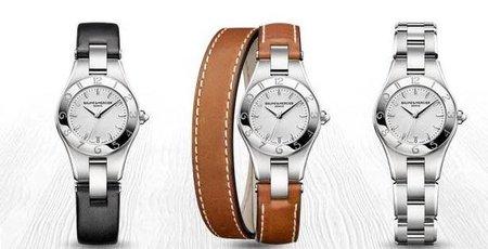 La hora Linea de Baume & Mercier. Reloj femenino de lujo