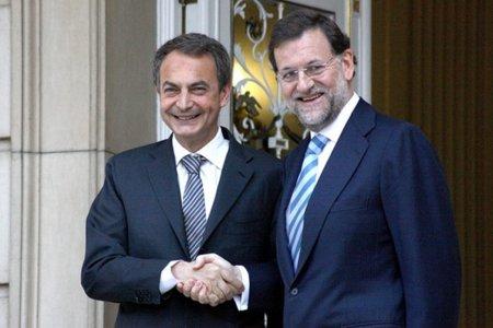 Zapatero y Rajoy pedirán el voto el día de reflexión y saldrán en el Telediario