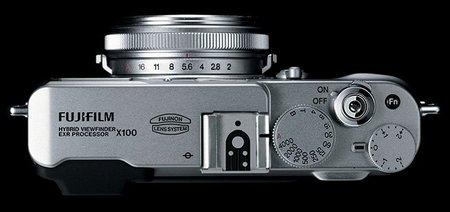Fujifilm x100 (vista superior)