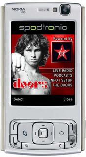 spodtronic, radio y podcast para Nokia