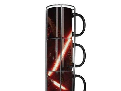 Set de 3 tazas Star Wars por sólo 6,99 euros en Amazon