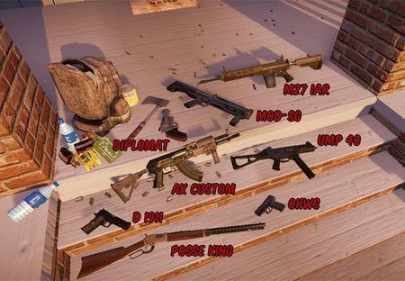 Un vistazo al variado arsenal de armas del 'State of Decay'