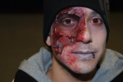 maquillage zombie original
