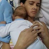 Despierta del coma y descubre que su bebé tiene ya tres meses