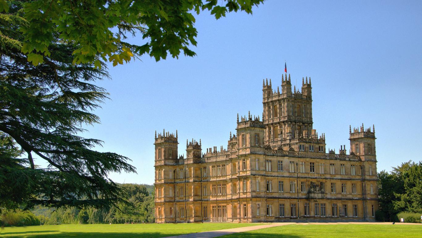 Nueve localizaciones de 'Downton Abbey' que no deberías perderte
