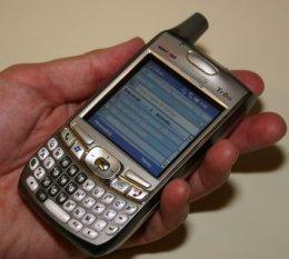 Palm Treo 700w, primeras imágenes