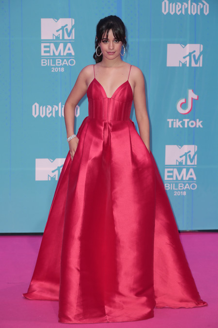 Camila Cabello red carpet mtv ema