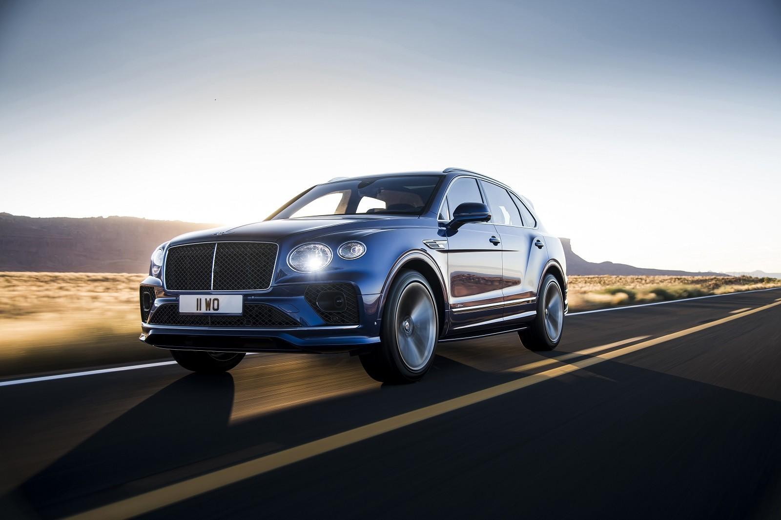 Foto de Bentley Bentayga Speed 2021 (1/24)