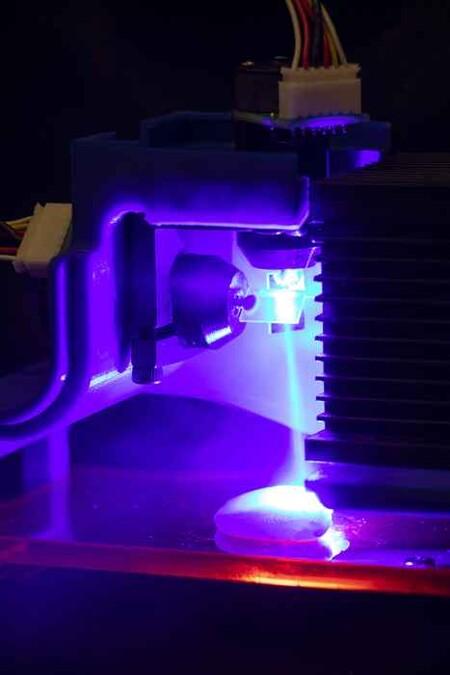 Laser Cocinando El Pollo Impreso En 3d