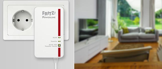 FRITZ!Powerline 1260E, un adaptador PLC de hasta 1.200 Mbps con WiFi AC