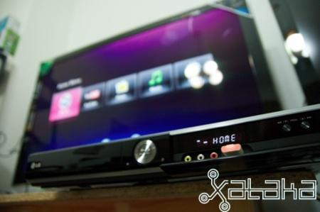 LG HR400, Blu-Ray con disco duro, lo hemos probado