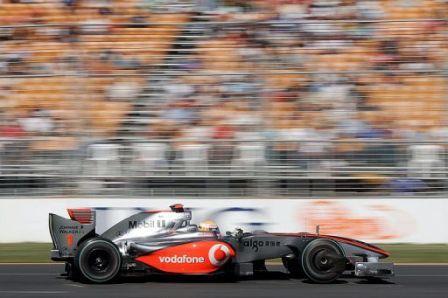 Lewis Hamilton saldrá mañana el último