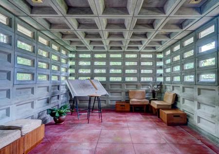 Interior Frank Lloyd Wrght