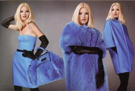 Kate Moss para Versace otoño-invierno 2007/08