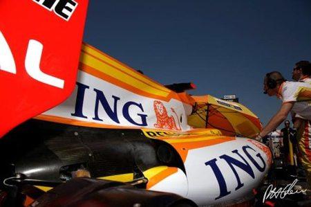 El Renault R29 de Fernando Alonso