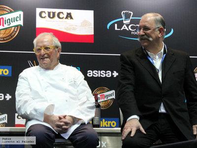 """Primera jornada de la XV Edición de Madrid Fusión: grandes cocineros, la luz del mar y hasta un """"porro"""" comestible"""